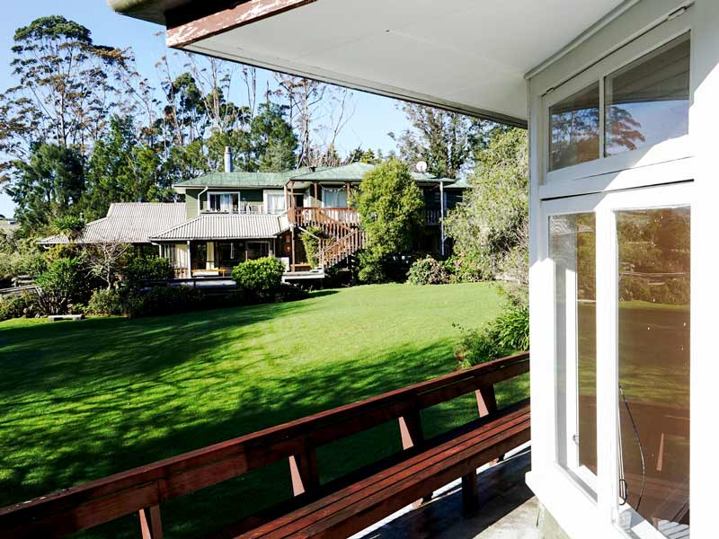 Accommodation - outlook to lawn