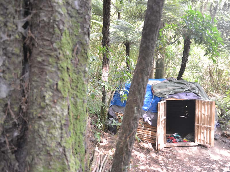 Building Kawai Purapura Sweat Lodge