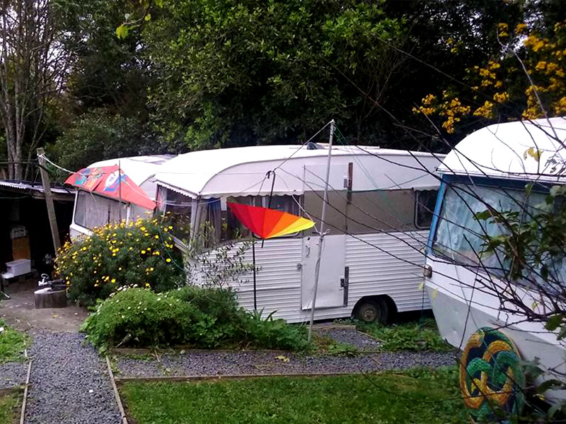 Caravans for Wwoofers