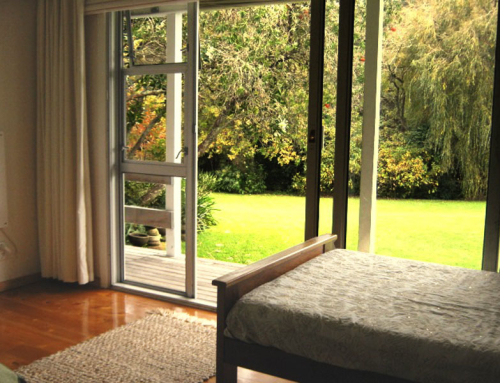 Great Heart Room Accommodation – Looking on to Lawn