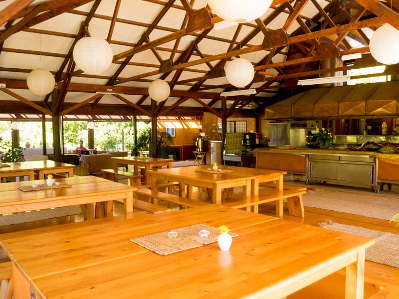 Prema Centre Dining Hall and Kitchen