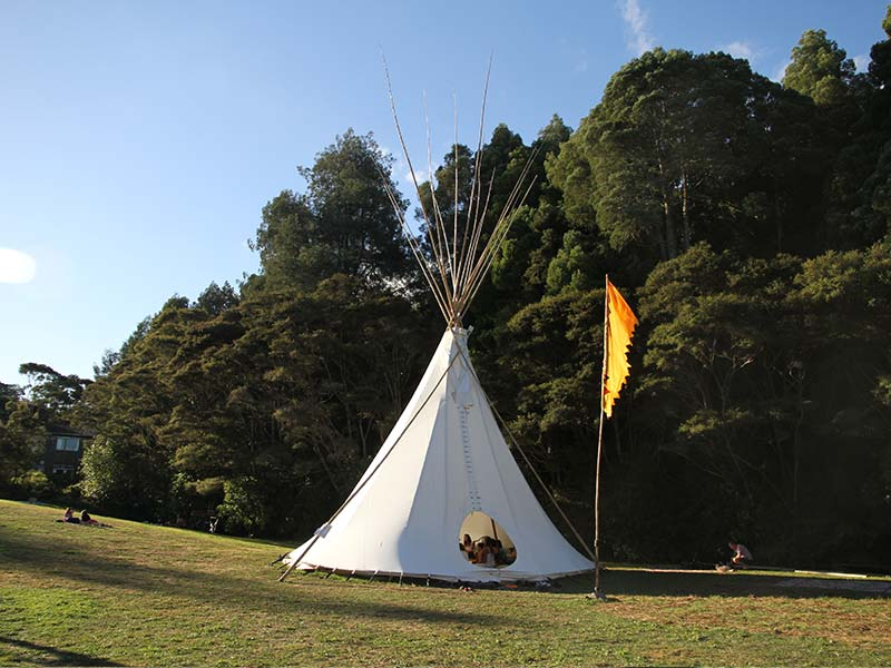 Tee-pee Workshop Space on Plains