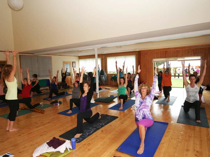 Whare Kahikatea Yoga Class