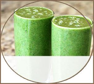 Green Smoothies - Snack Menu Sample