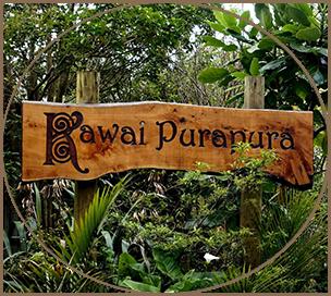 Kawai Purapura - Wooden Sign