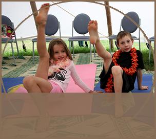 Kids Yoga inTee Pee