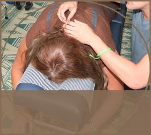 Massages at Kawai Purapura Festival