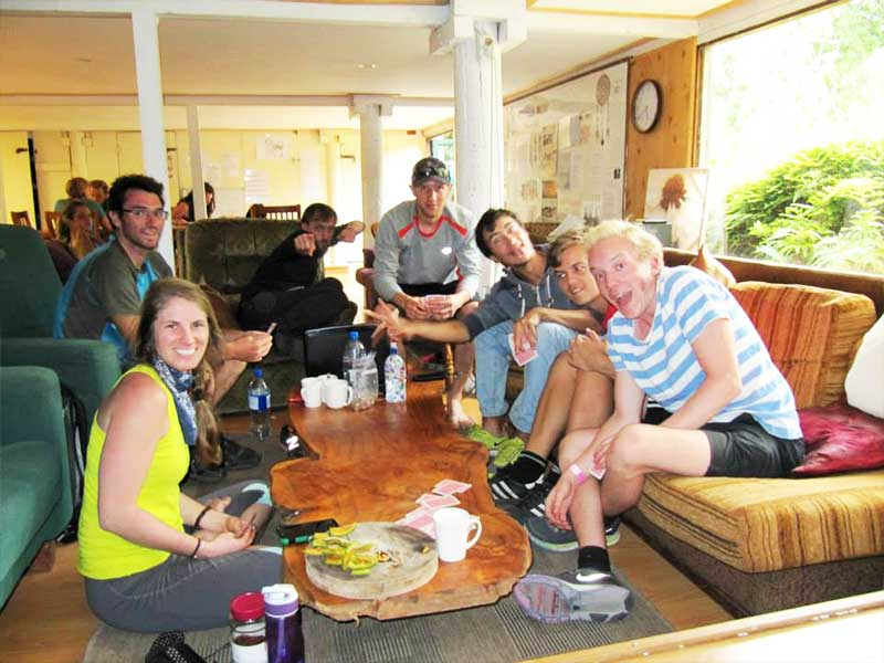 Wwoofers Lounge at Kawai Purapura