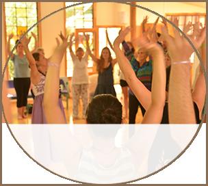Yoga Class in Lotus Studio