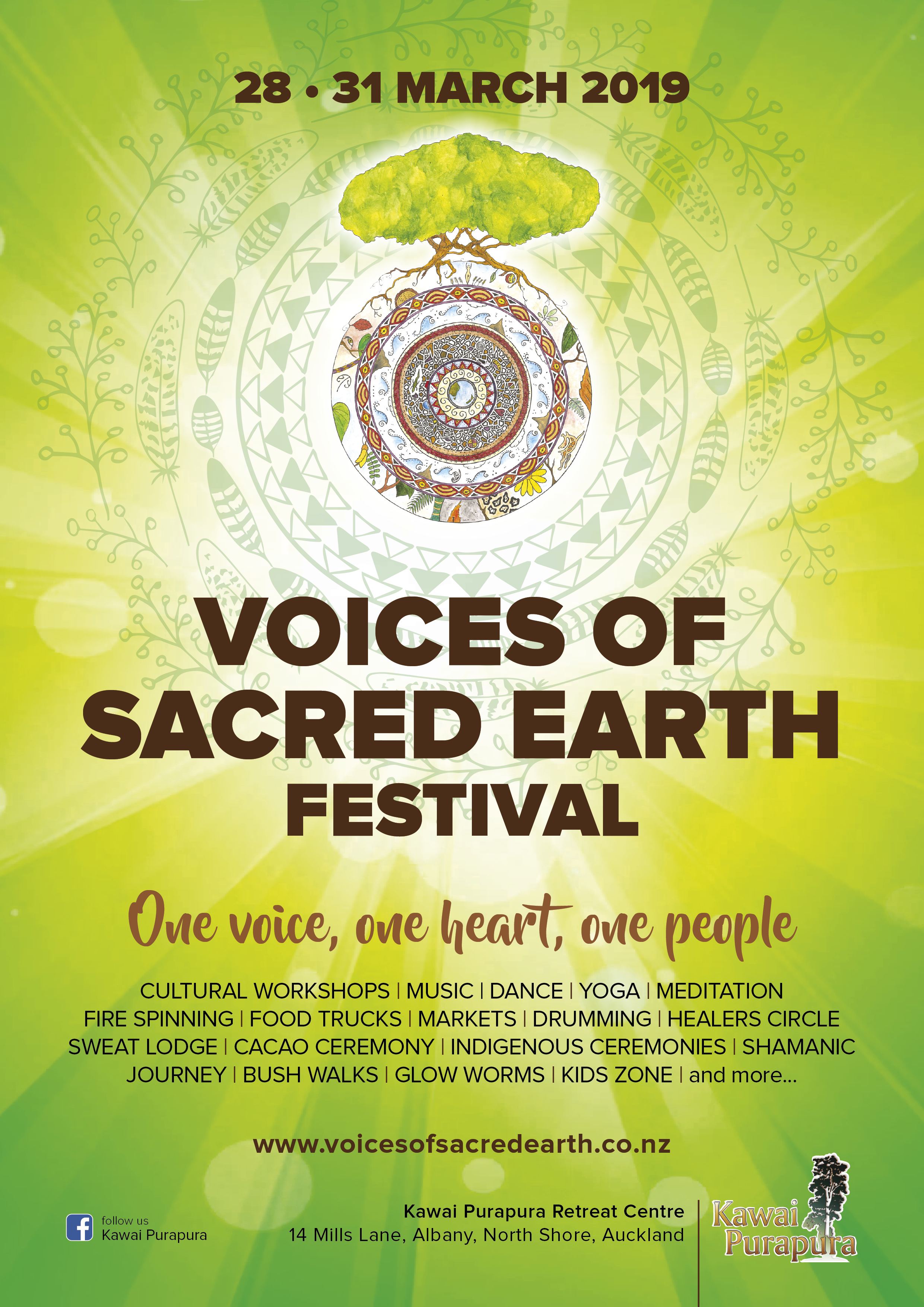 voices of sacred earth