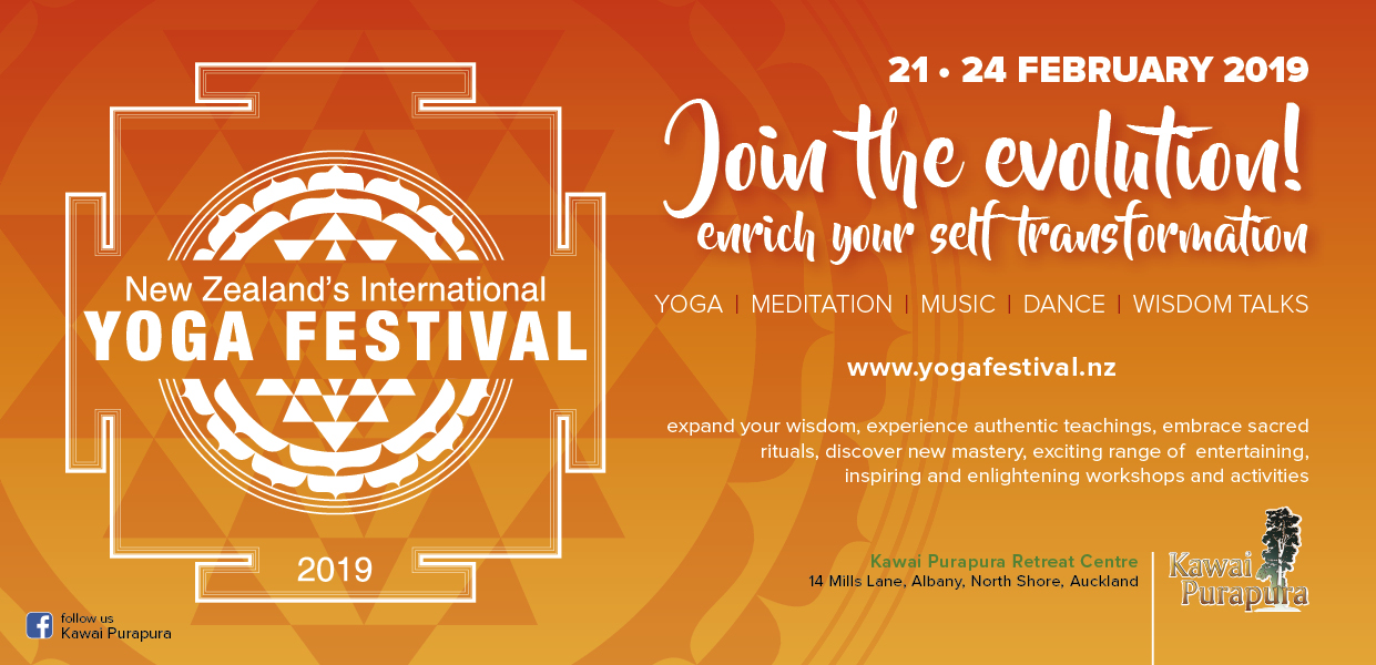New Zealand international yoga festival