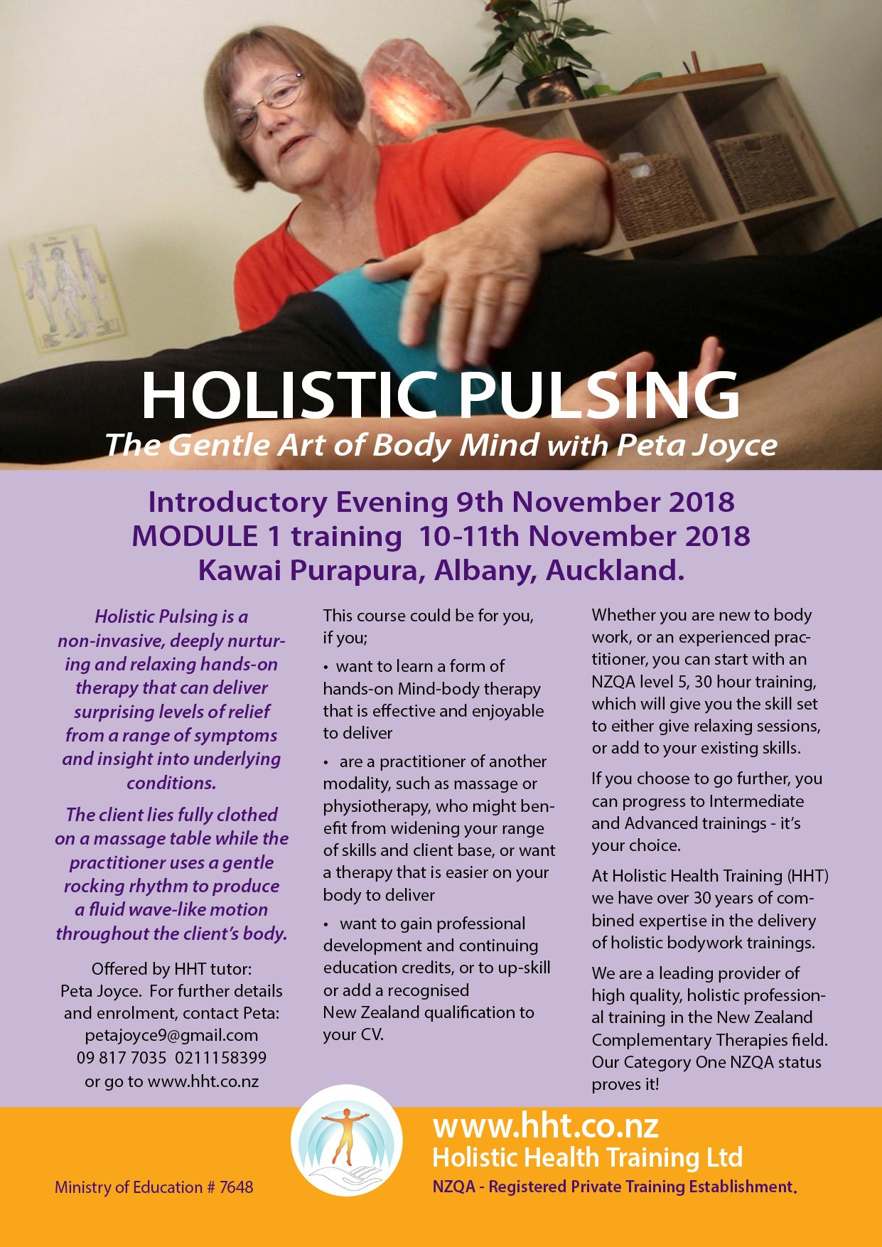 Holistic Pulsing Workshop