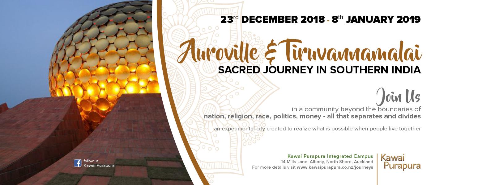 Auroville Pilgrimage