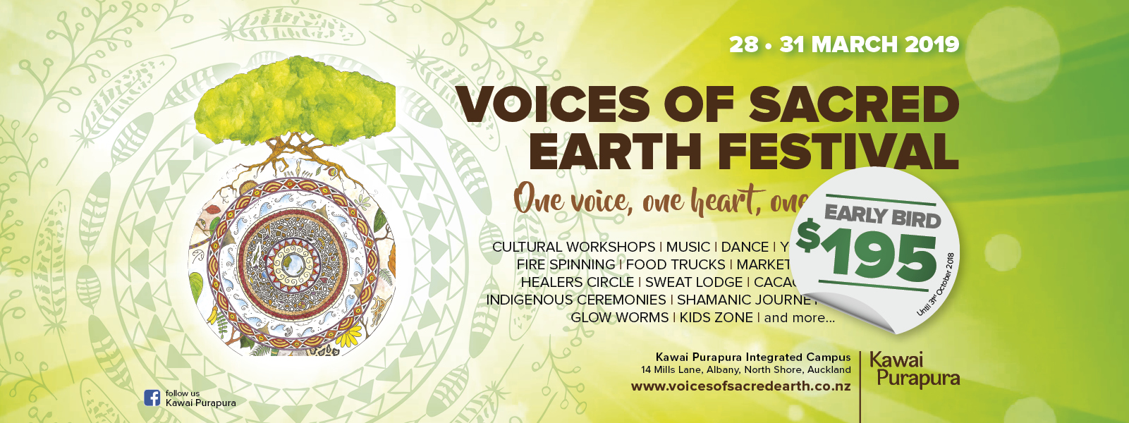 voices of sacred earth festival